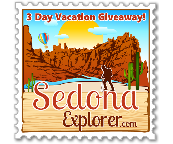 Sedona 3-day vacation give away