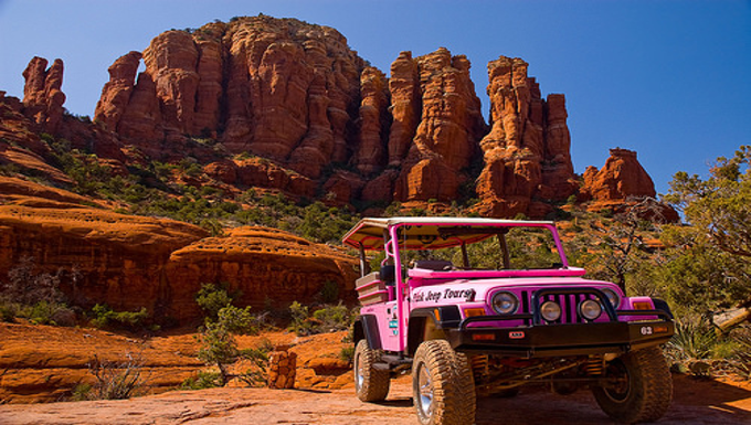 Sedona Pink Jeep Tours! You Gotta Ride Them To Believe Your In Heaven!  (Video Included)